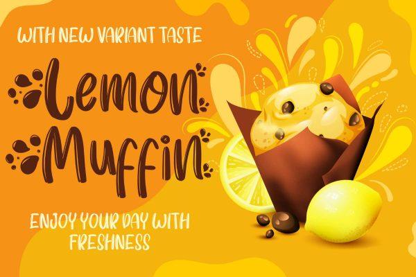 Lemon Muffin